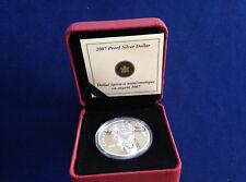 2007 Canada Thayendanegea Mohawk Chief Commemorative Silver Dollar E5156