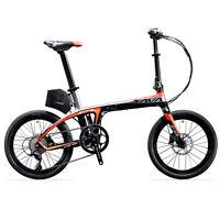 """SAVA E6 Electric Bicycle 20"""" Carbon Fiber Folding e-bike 36V/250W Pedelec Cycle"""