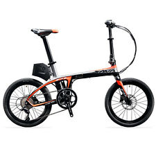 "SAVA E6 Electric Bicycle 20"" Carbon Fiber Folding e-bike 36V/250W Pedelec Cycle"