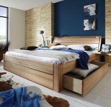 Bettgestelle ohne Matratze aus Massivholz mit Kopfteil 180cm x 200cm