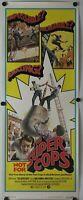 "The Super Cops 1974 Original Insert Movie Poster 14"" x 36"""