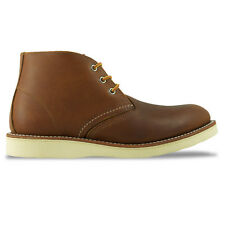 RED WING BOOTS - NEW RED WING CHUKKA BOOTS - TAN/BROWN/OLIVE MOHAVE LTHR - BNIB