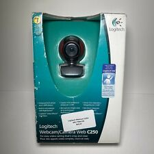 Logitech C250 Webcam USB 1.3MP Video Built-in Microphone with Rightsound New