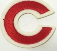 Chicago Cubs MLB Baseball Batting Helmet Rawlings Embroidered Decal FREE SHIP