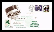 Dr Jim Stamps Us Pioneer Venus 2 Centaur Launch Space Event Cover 1978