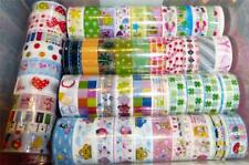 10 Rolls Mixed Cartoon Tape Adhesive Scrapbooking Stickers Decor CLEARANCE