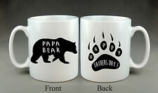 Beautiful Papa Bear Mug Father's Day Daddy Dad Present Gift