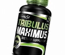 Biotech USA Tribulus Maximus 90 Tablets 1500mg Tribulus Terrestris Booster Free