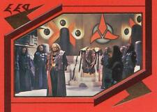 Star Trek TNG The Next Generation Season 5 Klingon card S25 NM/M condition