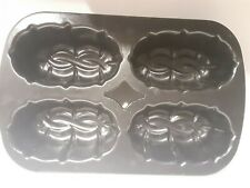 Nordic Ware Bundt Mini Loaf Pan - Makes Four (4) Braided Loaves