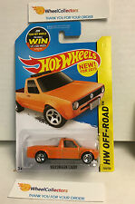 Volkswagen Caddy #124 * Orange * Hot Wheels 2015 USA Card * G7