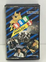 Now That's What I Call Music 3 double Cassette Tape 1984  good condition