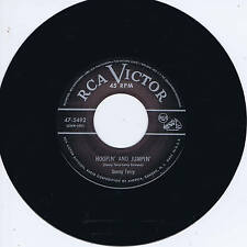SONNY TERRY - HOOPIN' & JUMPIN' / HOORAY HOORAY (Fab Rockin' Blues Boppers)