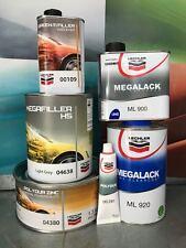 KIT BOTTOM MEGAFILLER 638 + CLEAR MEGALACK ML 920 + FILLER 380 LECHLER