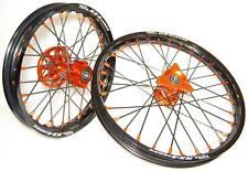 """***FA-BA*** RUOTE COMPLETE  KTM SX 65 17""""/14""""  MINICROSS  MINI MX complete wheel"""