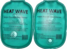 Heat Wave Instant Reusable Hand Warmers HW35, portable-long lasting, made in US