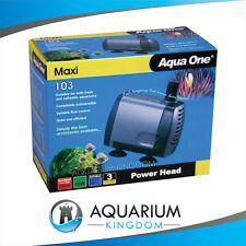 Aqua One Maxi 103 Powerhead 1200 L/H Hydroponics Pond Aquarium Tank Water Pump