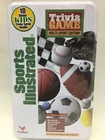 SPORTS ILLUSTRATED Trivia Game Multi-Sport Edition NEW! SEALED Tin!
