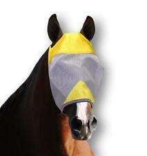Pyranha Brand NIP D-Pyranha Fly Mask-No Ears Large~Horse