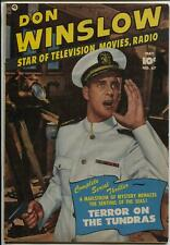 Don Winslow #67 1951-Fawcett-photo cover-3 chapter story-FN/VF