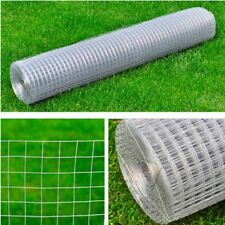 25m Garden Plant Fence Chicken Aviary Rabbit Cage Safety 25 sq mm Wire Net Mesh