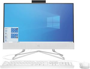 "NEW HP 181F7AA 21.5"" 8GB 256GB SSD AIO - Snow White"