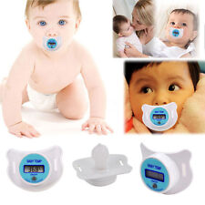 Health Baby Kid Nipple Thermometer Infant Newborn Pacifier Temperature XG
