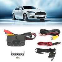 3in1 170° Car Reversing Rear View Camera Backup Radar Parking Sensor in one Cam