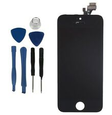 IPhone 5 NERO Ricambio Digitalizzatore LCD TOUCH SCREEN DISPLAY ASSEMBLY + TOOL KIT