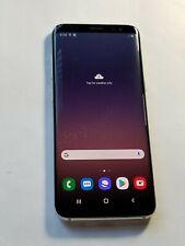 Samsung Galaxy S8 -G950U- 64GB - Silver -GSM unlocked - ScrnBurn # Jy335