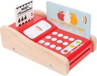 Le Toy Van HONEYBAKE CARD MACHINE Educational Pre-School Wooden Toy BN