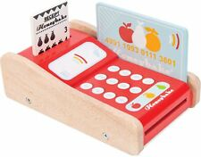 Le Toy Van Honeybake Machine à cartes éducatif préscolaire en bois jouet BN