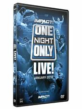 Official TNA Impact Wrestling One Night Only: January LIVE! 2016 Event DVD
