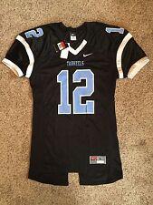 Nwt Authentic Nike Tar Heels North Carolina Football Jersey Men Sz L Pro Cut #12