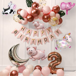 Animal Fairy Shape Aluminum Foil Balloon Birthday Party Decoration Kid Toy 2021