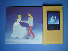 Cinderella and Prince Dancing Art of Disney Japan Disney Mall Pin and Card RARE