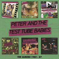 Peter and the Test Tube Babies : The Albums 1982-87 CD Box Set 6 discs (2018)