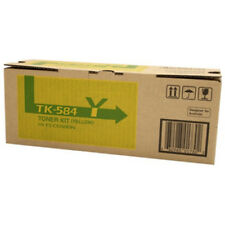 Kyocera Genuine TK-584Y YELLOW Toner For FSC5150DN P6021CDN - 2,800 Pages