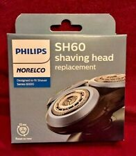 Philips Norelco Replacement Head for Series 6000 Shavers Model SH60/72 NIB