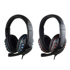 Durable Stereo Gaming Headset Headphone Wired with Mic for PC Xbox One PS4 PS3 M