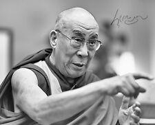 Dalai lama-Repro-autógrafo, 20x24 cm