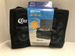 corona cooler bag w/ Built In Wireless Speakers And Bluetooth