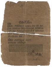 Suède - Vieux 8 Schillingar Banco Note - 1848 - A100b - Divisé Note