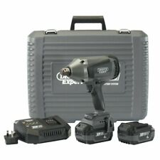 """Draper Expert 20V Brushless 3/4"""" Impact Wrench (1060Nm) 2 x 4Ah, Fast Charger"""