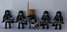 Playmobil Knights 5 x Assorted Evil Dead Monster Knights Good Condition