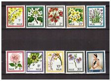 s21069) NIUE MNH** Nuovi** 1969 Definitives 10v Flowers