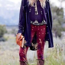 Free People Sweater Leggings mit Jacquard Muster Norweger XS Selten