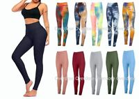 Womens Anti-Cellulite Yoga Pants Push Up TikTok Leggings Honeycomb Sports Gym