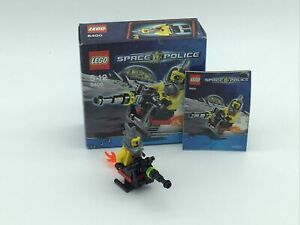 Lego 8400 Space Police Space Speeder With Box And Instructions