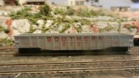 Athearn HO BB Vintage Southern Ry 50' Gondola, upgraded, Exc.